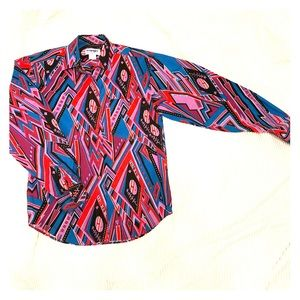 Vintage Wrangler button up Shirt